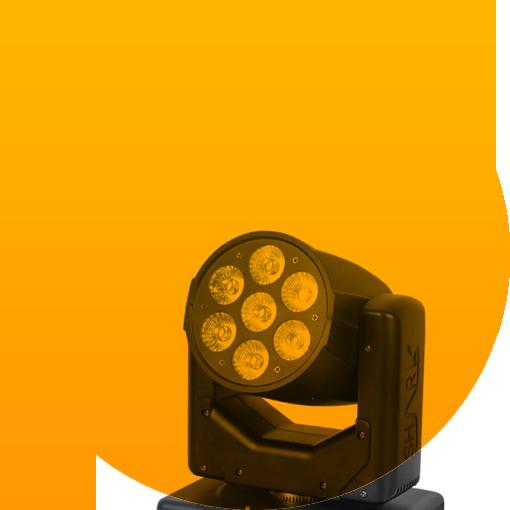 PartyField – Verhuur – Licht