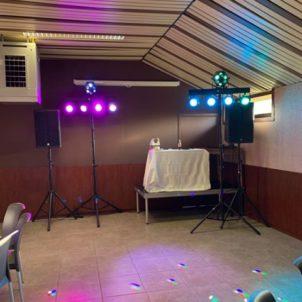 Januari 2019 – Licht- en geluidsinstallatie oudejaarsparty – Café Ysebaert